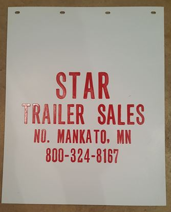 Picture of White Star Trailer Sales Mud Flap