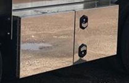 """Picture of 18"""" x 24"""" x 60"""" Aluminum Double Door """"T"""" Handle Toolbox"""