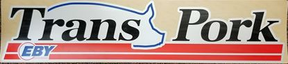 Picture of Decal Transpork 6 x 30 Poly